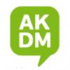 Akademija za jezik, govor i tekst logo