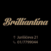 Brilliantina beauty salon logo