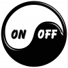 Caffe bar On-off logo