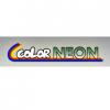 Color neon logo