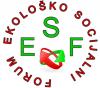 Ekološko socijalni forum logo