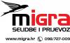 MIGRA selidbe i prijevoz logo