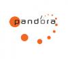 Pandora media  logo