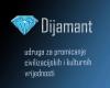 """Udruga za promicanje civilizacijskih i kulturnih vrijednosti """"Dijamant"""" logo"""