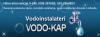 """USLUŽNI OBRT """"VODO-KAP"""" logo"""