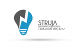 Struja-Obrt za elektroinstalacije logo
