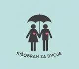 Kišobran za dvoje logo