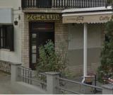 """Caffe Bar """"ZG CLUB"""" logo"""